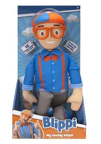 Blippi Feature Figure My Buddy Blippi Toy Figure