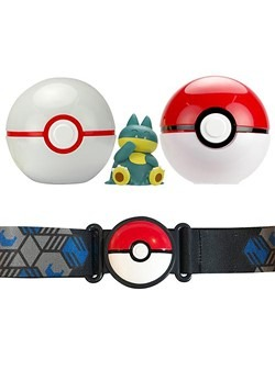 Pokémon Clip 'N' Go Poké Ball Belt Set Alt 1