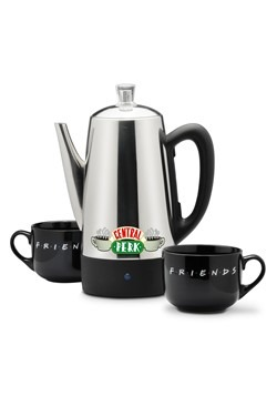 Friends Central Perk 12 Cup Percolator Set