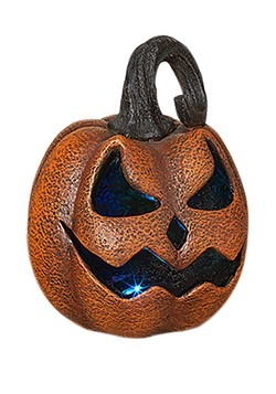 "15.75""H Lighted Halloween Pumpkin"