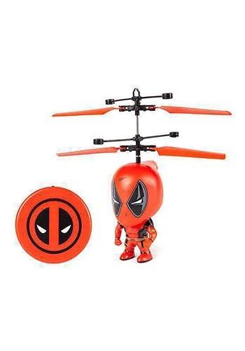 Marvel 3.5 Inch Deadpool Flying Figure IR Helicopt