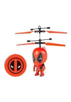 Marvel 3.5 Inch Deadpool Flying Figure IR Helicopt