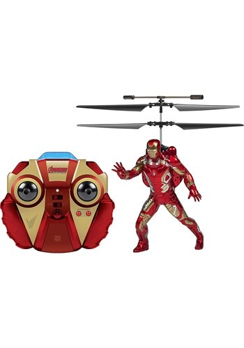 Marvel Avengers Iron Man Flying Figure IR Helicopt