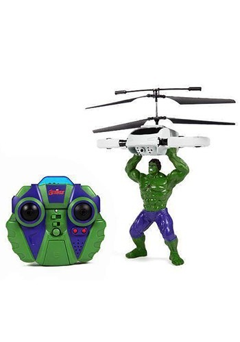 Marvel Avengers Hulk Flying Figure IR Helicopter
