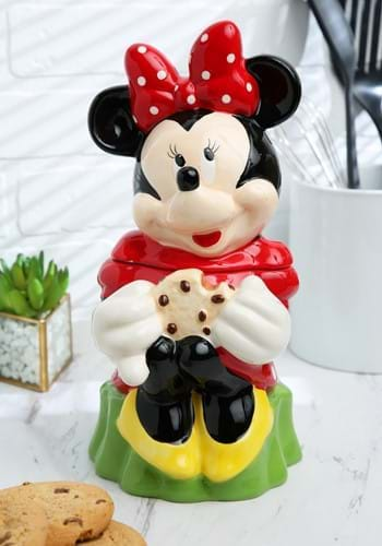 Ceramic Minnie Mouse Cookie Jar