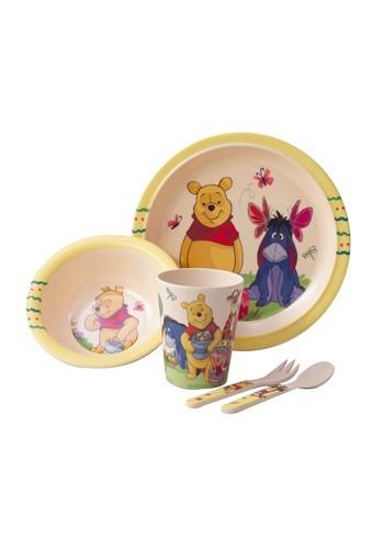 Winnie the Pooh Springtime Fun 5pc Dinnerware Set