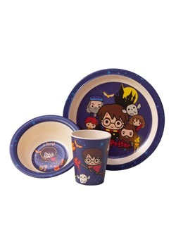 Harry Potter Charms 3pc Dinnerware Set