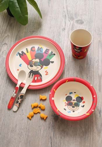 Mickey Shades 5pc Dinnerware Set