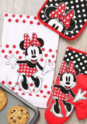 Minnie Surprise 3pc Kitchen Textile Set Upd