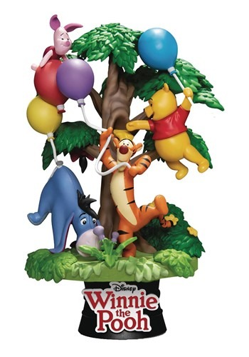 Disney DS 053 Winnie the Pooh Friends D Stage 6 In Statue