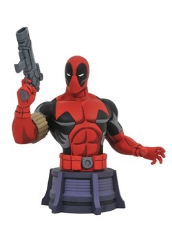 DIAMOND SELECT ANIMATED X-MEN DEADPOOL BUST