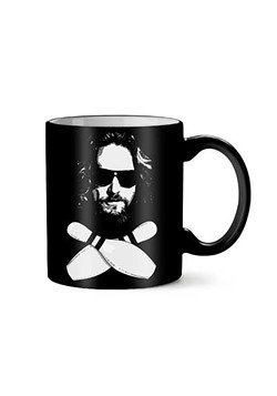 The Big Lebowski Dude Abide Pins 20 oz Jumbo Ceramic Mug