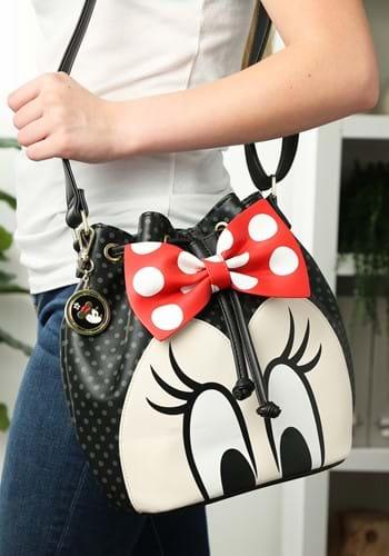 Loungefly Minnie Bow Bucket Bag