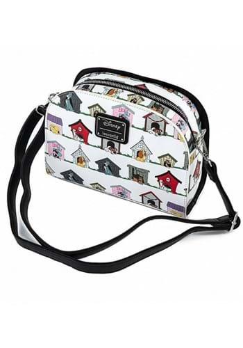 Loungefly Disney Dogs Houses Crossbody Bag