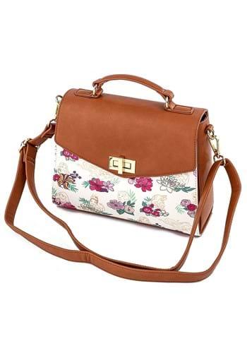 Loungefly Floral Disney Princess Crossbody Bag