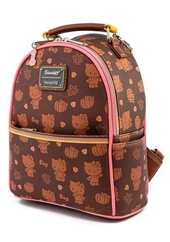 Hello Kitty Pumpkin Spice Loungefly Mini Backpack