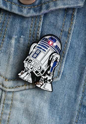 Star Wars R2-D2 Light Up Pin update