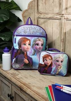 Frozen 2 5 Pc Backpack Set