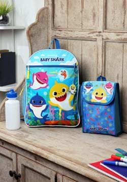 BABY SHARK 5 PC BACKPACK SET