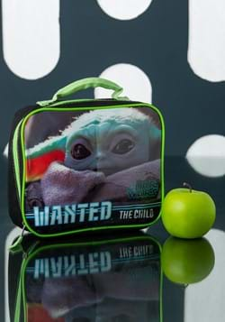 BABY YODA RECTANGULAR LUNCH TOTE