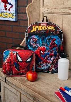 Spider-Man 5 Piece Backpack Set