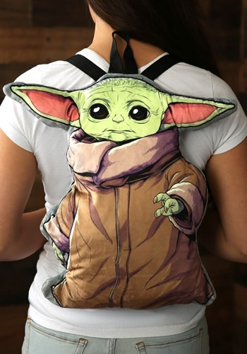 Star Wars The Mandalorian The Child Plush Backpack