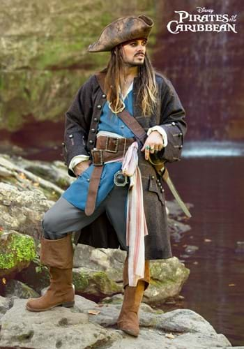 Adult Authentic Captain Jack Sparrow Costume-2