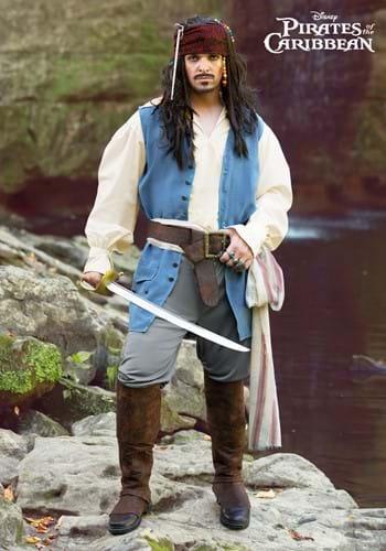 Mens Captain Jack Sparrow Costume-2