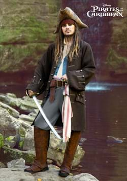 Adult Deluxe Jack Sparrow Pirate Costume-2