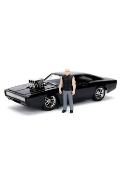 Fast & Furious Dodge Charger R/T w/ Dom 1:24 Scale Die Cast