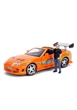 Fast & Furious Toyota Supra w/ Brian 1:24 Scale Die Cast Mod