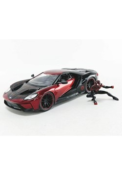 2017 Ford GT w Spider Man Miles Morale Figure