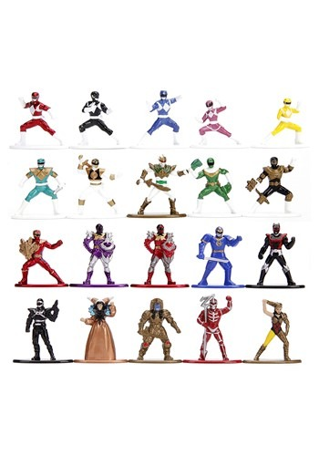 Power Rangers Nano Metal Figs 20-Pack
