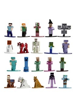 Minecraft Nano Metal Figs 20-Pack Wave 2
