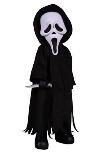 Living Dead Dolls Scream Ghost Face 10 Doll Figure