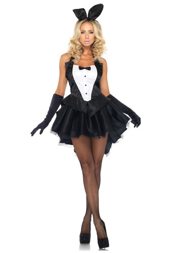Women's Tux and Tails Bunny Costume
