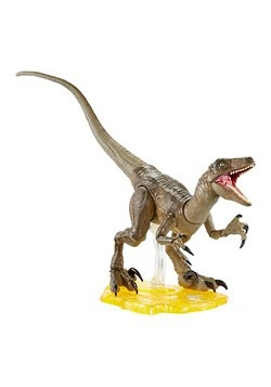 Jurassic World Amber Collection Velociraptor Action Figure