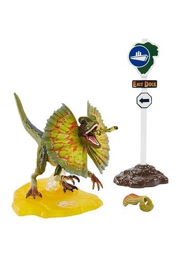 Jurassic World Amber Collection Dilophosaurus Action Figure