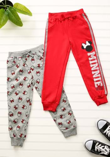 2 Pack Minnie Mouse Toddler Joggers Upd