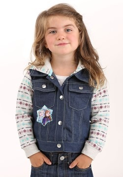 Frozen 2 French Terry Denim Jacket