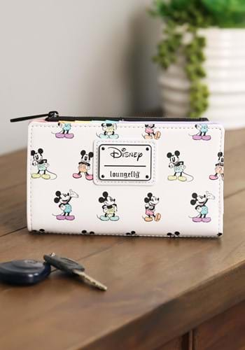 Loungefly Mickey Mouse Pastel Poses Wallet-update