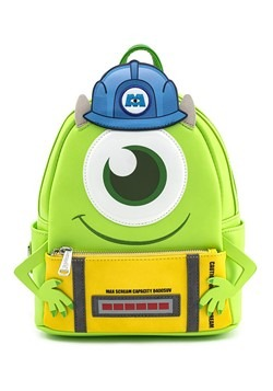 Loungefly Monsters Inc Mike w Scare Can Mini Backpack