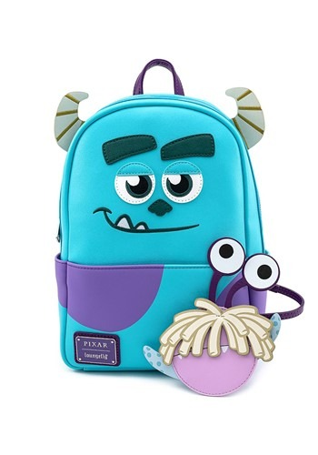 Loungefly Monsters Inc Sully Mini Backpack w/ Boo Coin Purse
