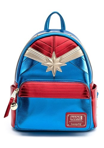 Loungefly Captain Marvel Classic Mini Backpack