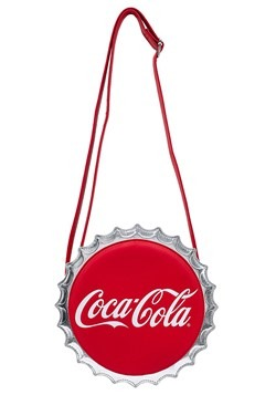 Loungefly Coca Cola Bottle Cap Crossbody Bag