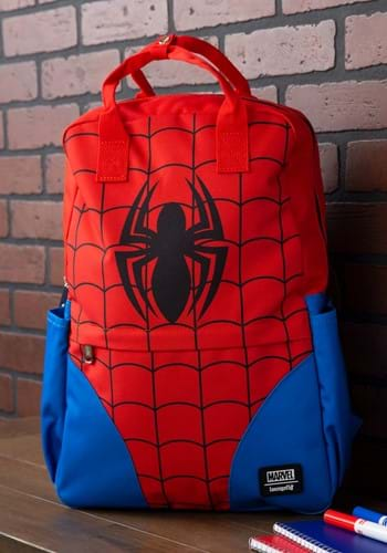 Loungefly Spider-Man Cosplay Nylon Backpack-1