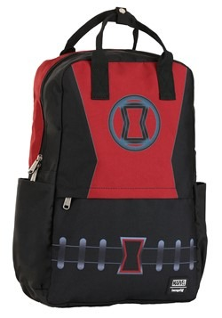 Loungefly Black Widow Cosplay Nylon Backpack