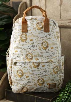 Loungefly Harry Potter Marauders Map Nylon Backpac