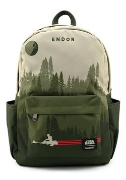 Loungefly Star Wars Endor Speeder Bike Nylon Backp