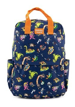 Loungefly Nickelodeon Retro Characters Nylon Backp